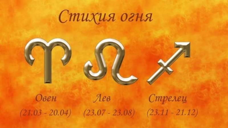 Гороскоп на 12 января 2021 года для знаков стихии Огня