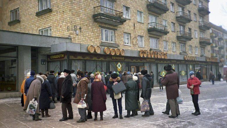Дефицитные товары и длиннющие очереди в Советском Союзе
